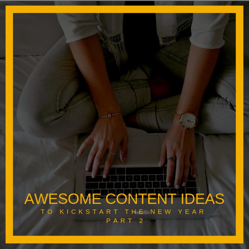 Content Creating Ideas