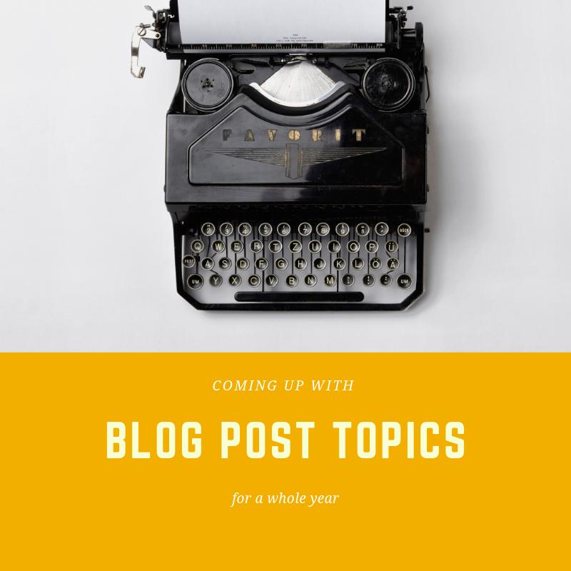 generate blog topics