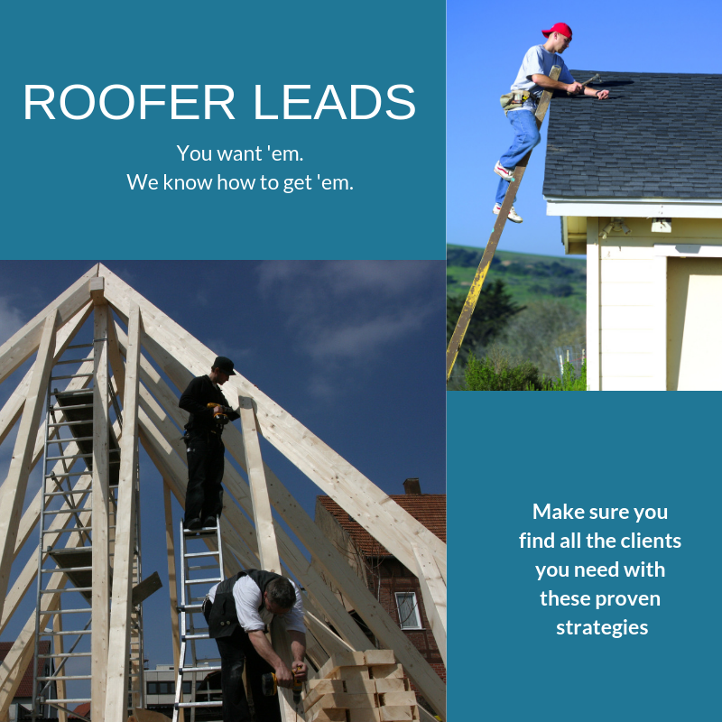 roofing sales leads