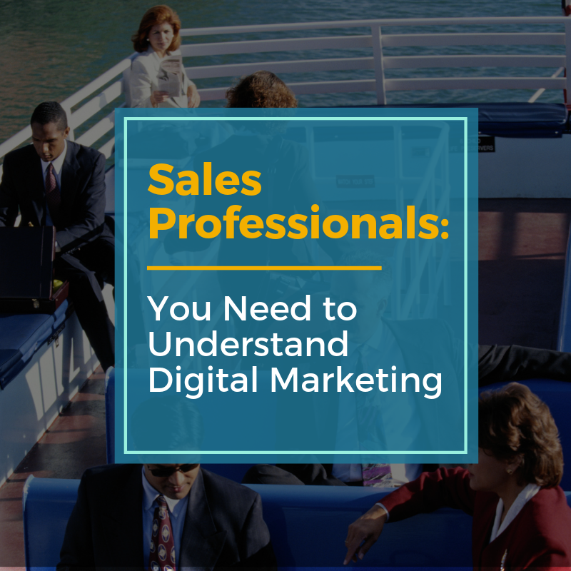 sales professionals in digital marketing