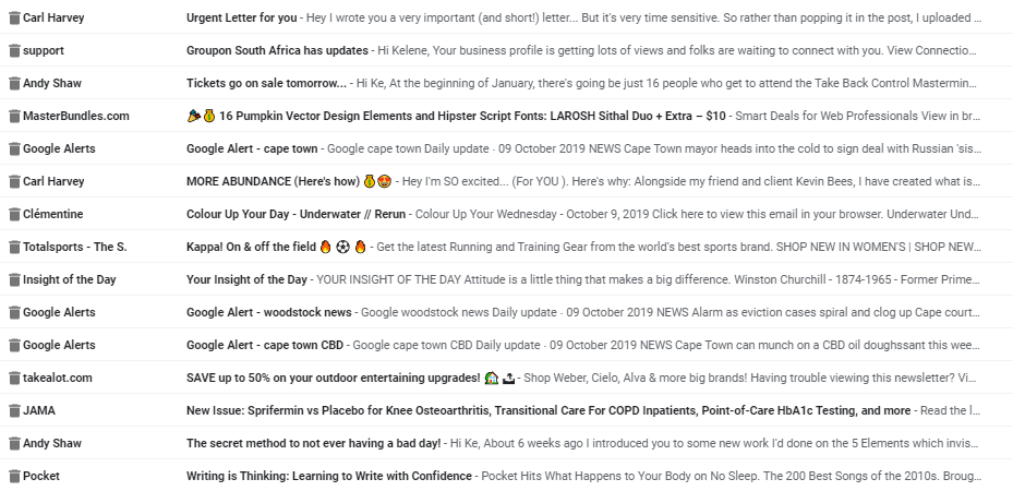 Subject Line Emojis