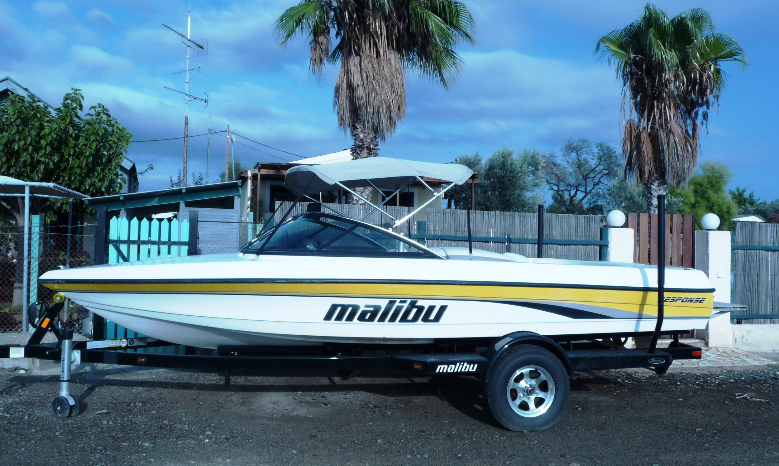 Our boats are Malibu Response with ZeroOff.
