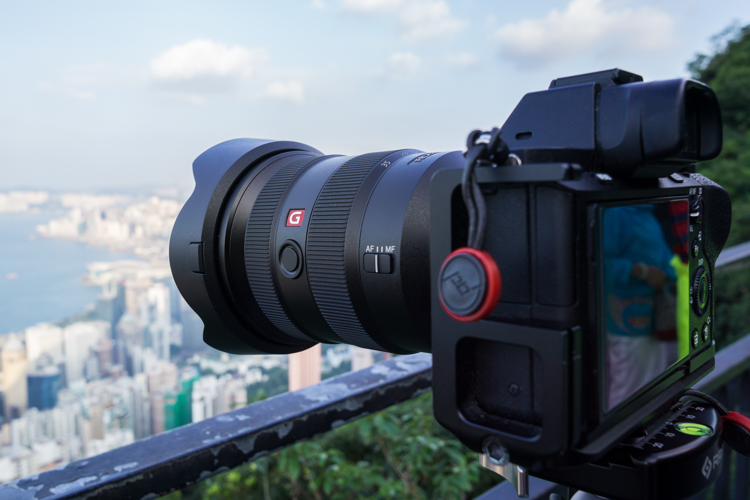 16-35mm f/2.8 GM mounted on the Sony a7 II at Victoria Peak - Hong Kong