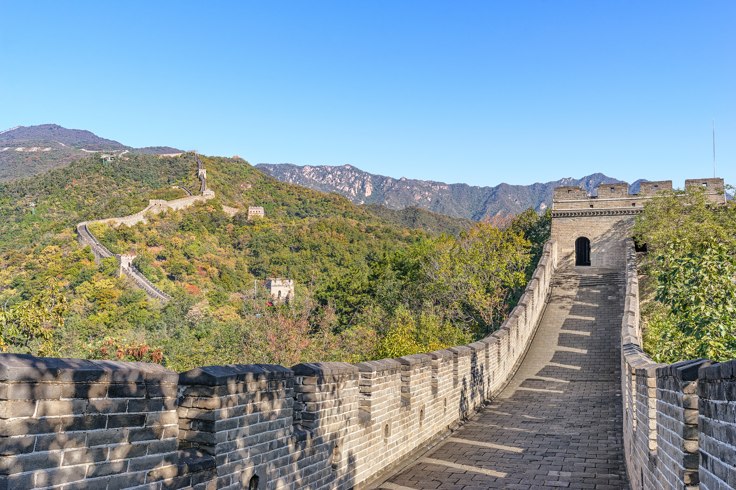Great Wall of China - ISO 100 | f/9 | 1/30s | 29mm