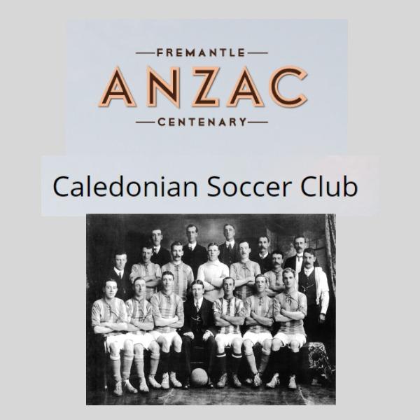 Caledonian's WW1
