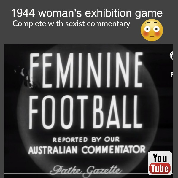 1944 woman's game Sydney sports ground