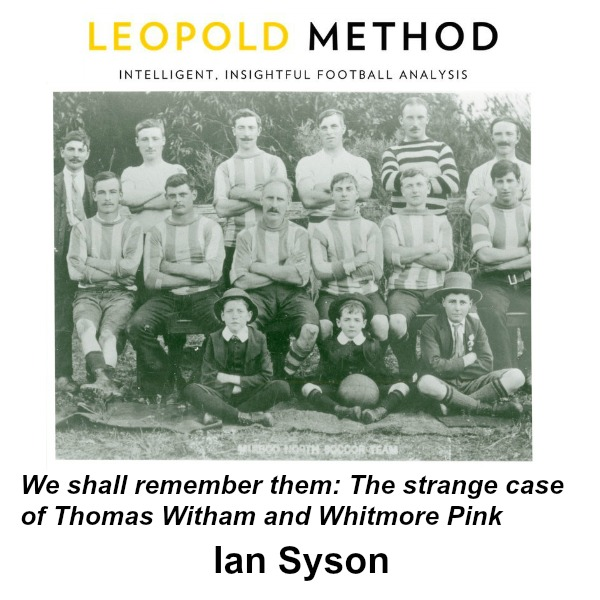 Strange case of Thomas Witham & Whitmore Pink