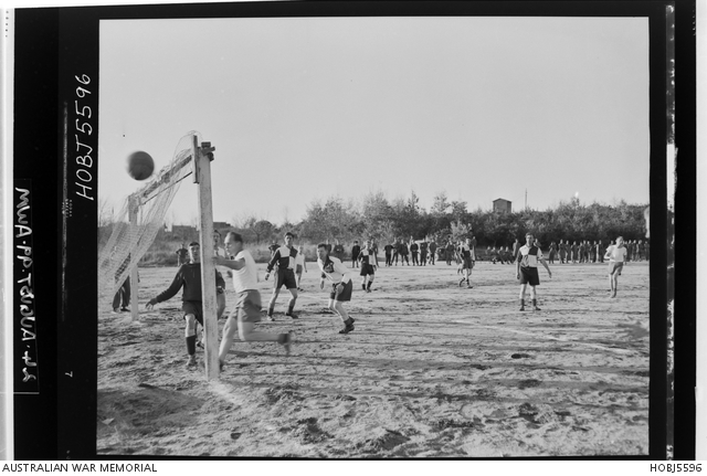 Korea. 3 December 1954. A friendly game of soccer took place at the camp of the Demilitarised Zone (DMZ) of the Neutral Nations Advisory Commission (NNAC). The teams competing were Australian and Swiss. The score was 3 to 1 in favour of the Australians. -