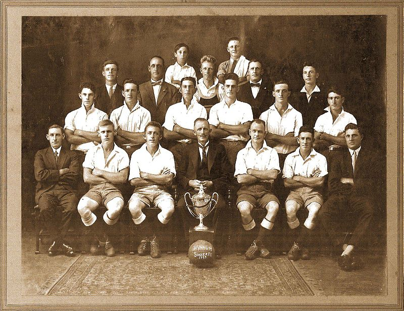 Wynnum Soccer Football Club 1929 - (TROVE)