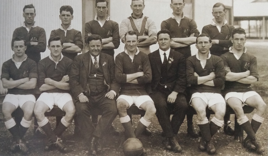 Australian team for canadian tour of australia-1924- - Australia played a series of five A internationals against a visiting Canadian side.Won 3,Lost 2,Drew 1