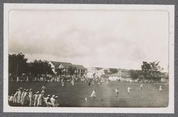 H.M.A.S. Parramatta sailors in new guinea -1914- - H.M.A.S. Parramatta albumState Library Victoria