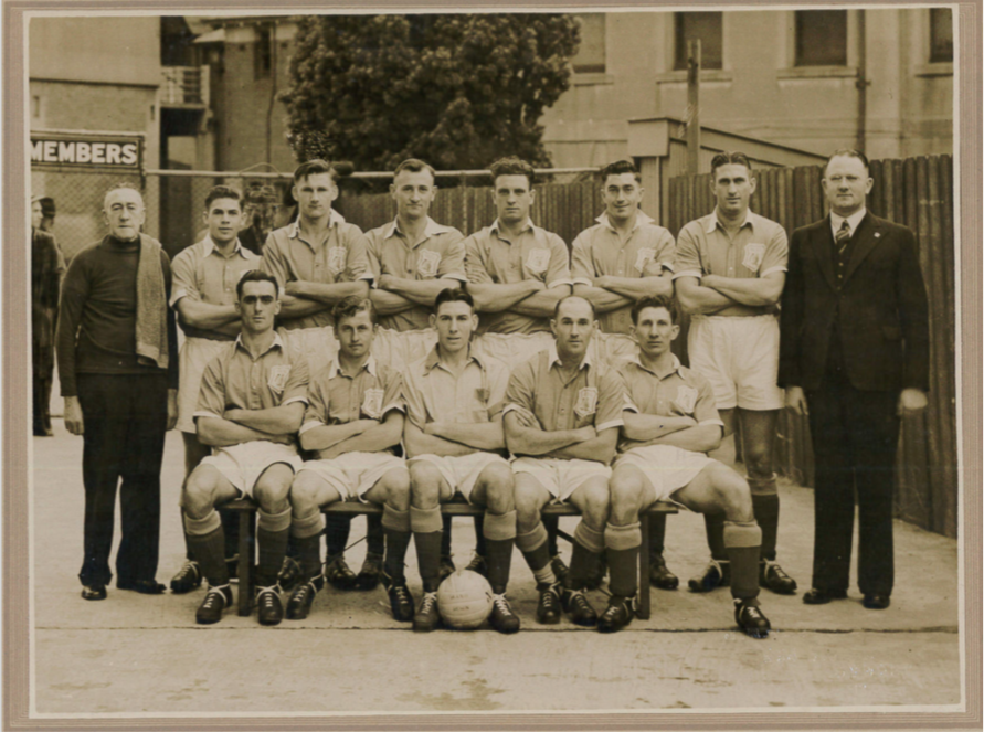 1947 v South africa - During the 1947 tour of Australia the South Africans played two matches against an Australian XI as