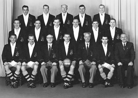 1958 tour - The famous English club Blackpool toured Australia in May and June of 1958. The touring party included the great Stanley Mathews who entertained the Australian crowds with his tremendous touch and ability to read a game. Big crowds greeted the team wherever they went and the tour was considered one of the most popular in the history of Australian soccer to date.