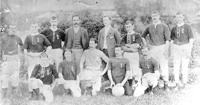 WALLSEND 'ROVERS' FOOTBALL TEAM9TH NOVEMBER 1889 - (Newcastle Region Library )
