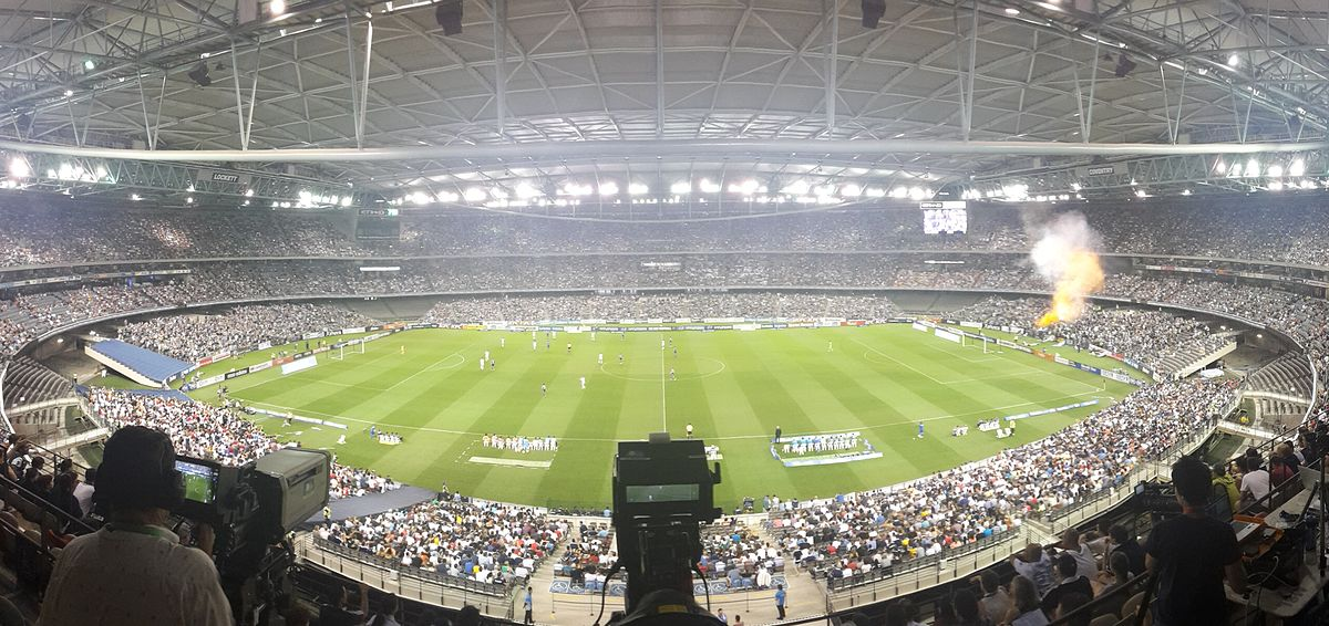 Melbourne Victory FC - Docklands StadiumCapacity: 56,347