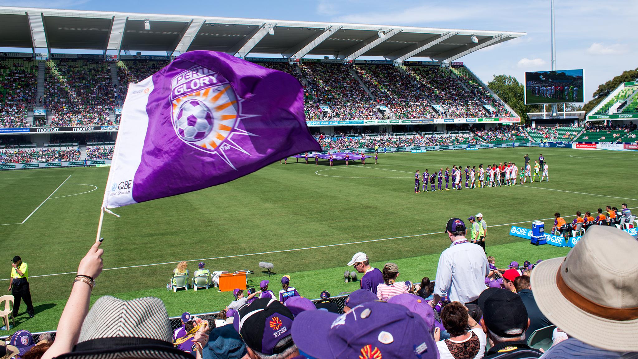 perth glory fc - NIB StadiumCapacity: 20500