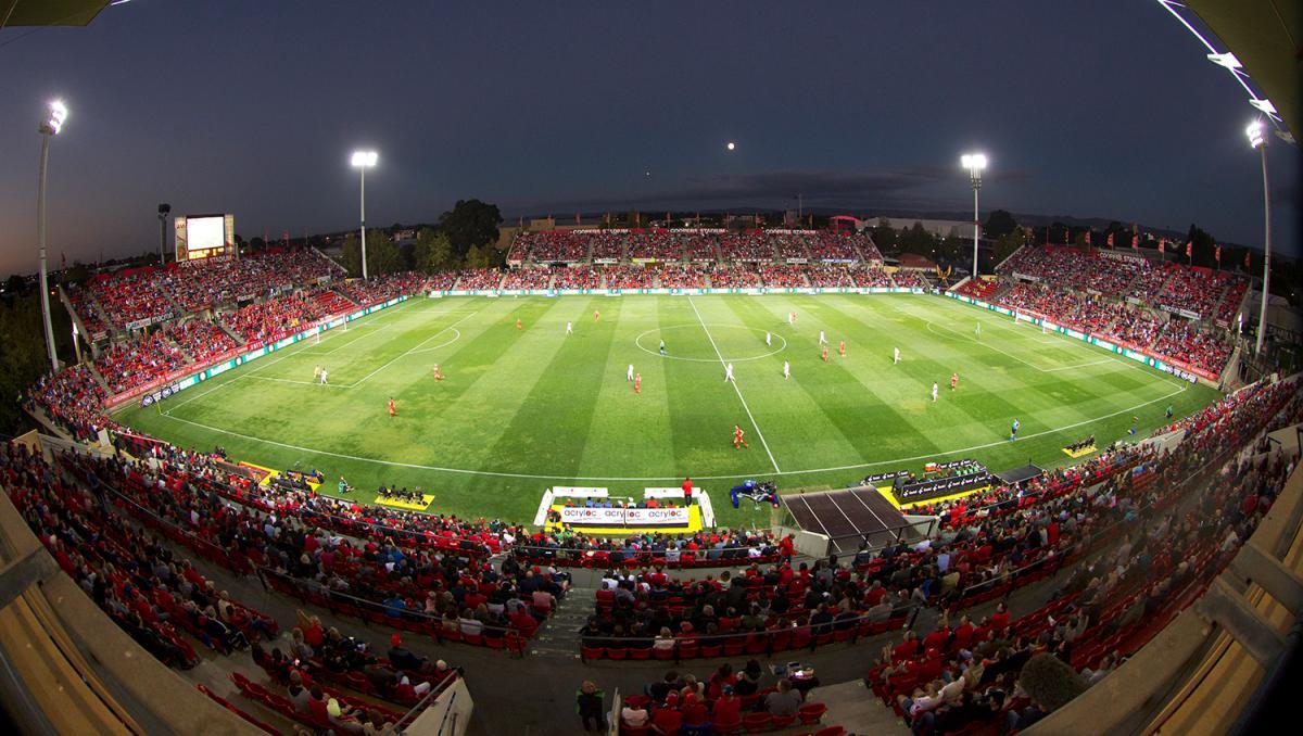 adelaide united fc - Hindmarsh StadiumCapasity: 16500
