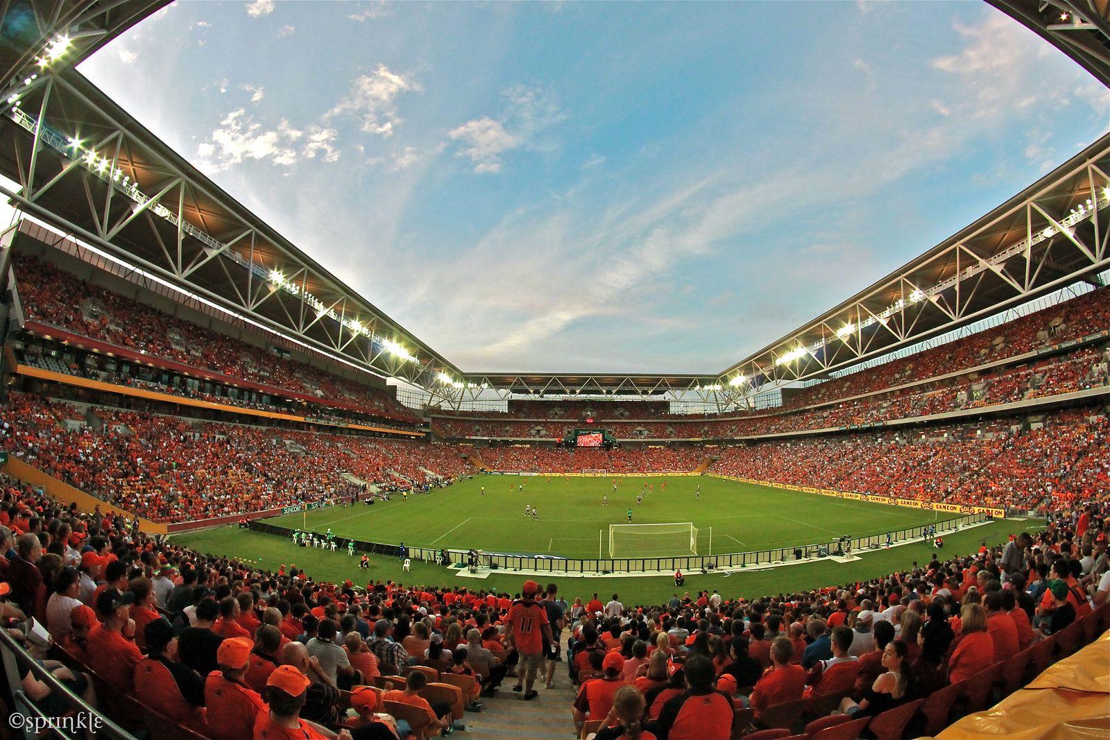 Brisbane Roar fc - Suncorp StadiumCapacity: 52500