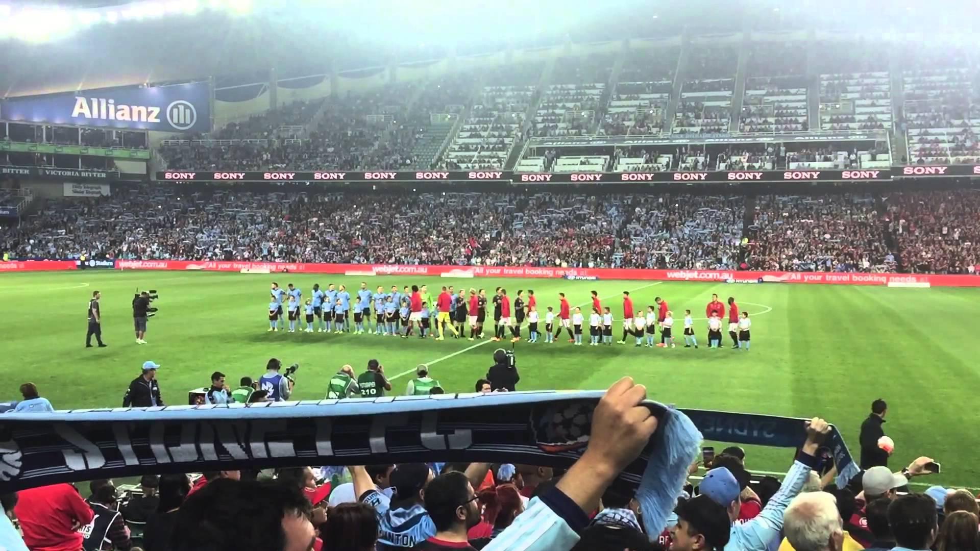 sydney fc - Sydney Football StadiumCapacity: 44000