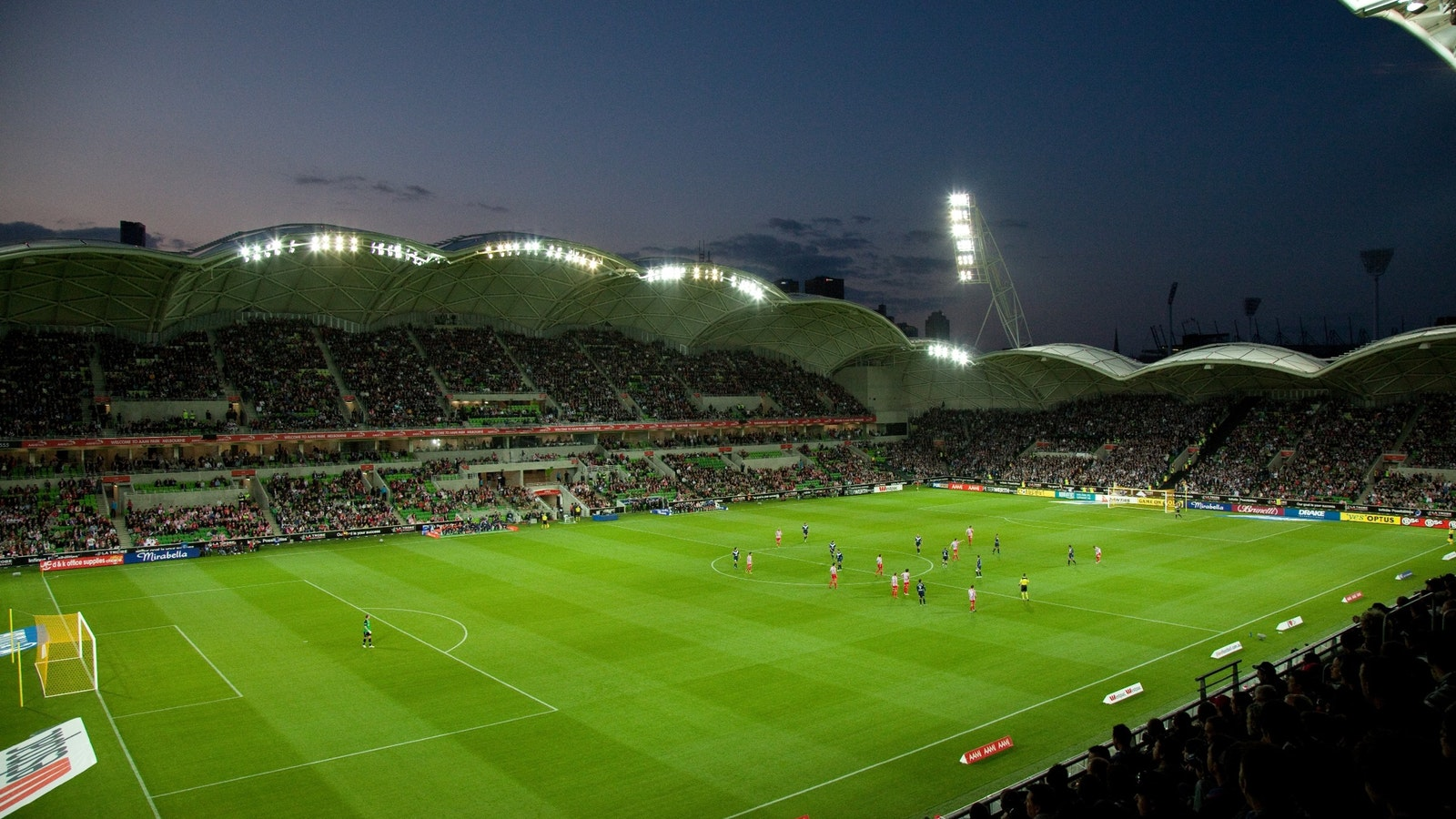 Melbourne victory/Melbourne city - Melbourne Rectangular StadiumCapacity: 30,050