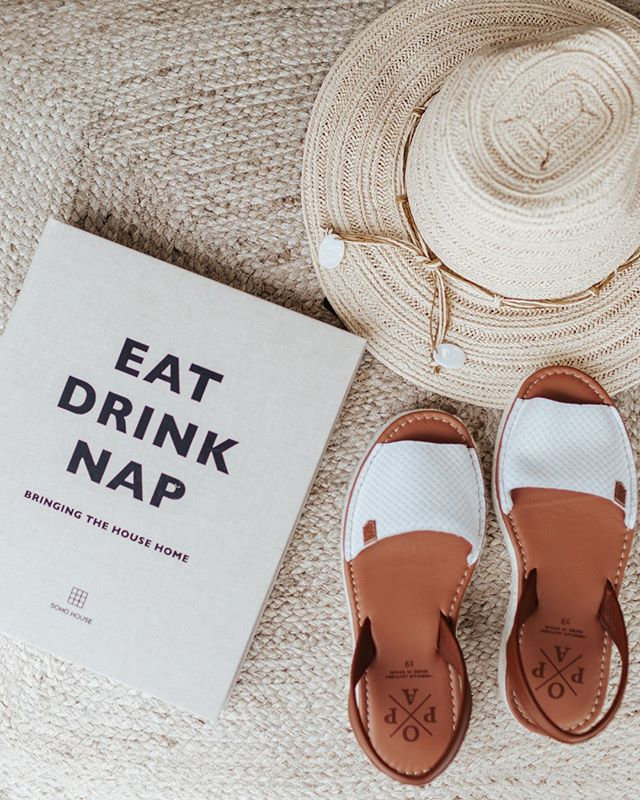 We have all your spring essentials sorted, from sun hats to handmade Minorcan sandals along with all your weekend reads ✌️