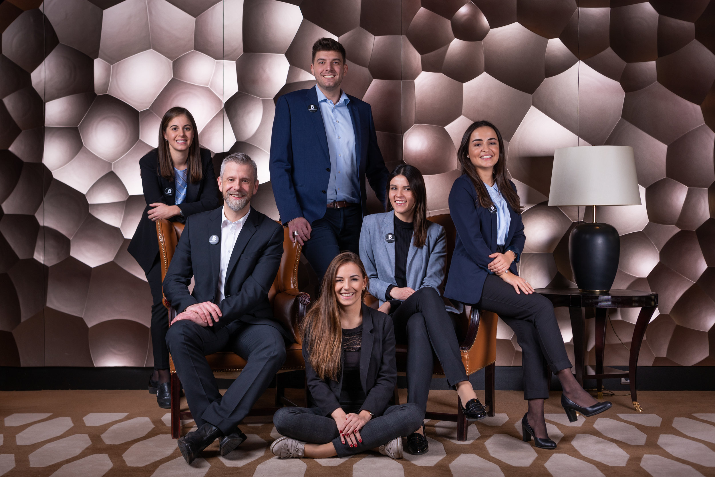 Team Portrait - Hotel Bristol Berlin