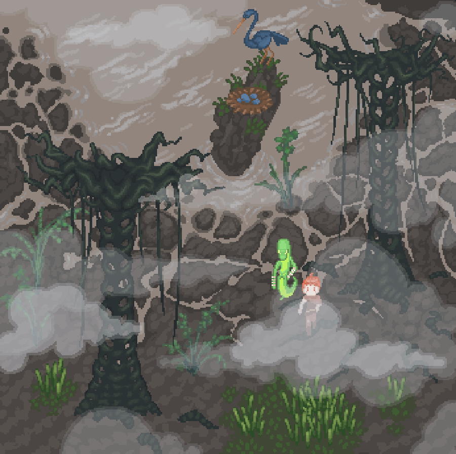 SURVIVE - Life is a constant struggle in Foukemire, and you will need to battle for every scrap of food and step of progress if you hope to survive. Learn to forage the wilderness and hunt as you delve into lands no human has ever explored.