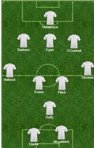 Predicted Blades line-up.