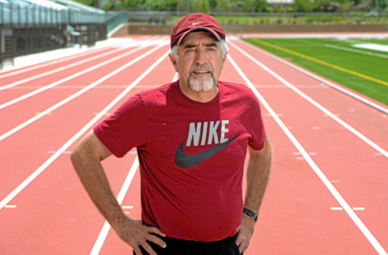Mark Covert - Mark Covert just completed his final year as the Head Men's & Women's Cross-Country and Track & Field Coach at Antelope Valley College, located in Lancaster, CA. With a coaching career that spans over forty-years, Covert coached one of only four Junior World Cross-Country Champions to come from the United States, over thirty California State Community College Champions, and coached over twenty championship track and cross-country teams.Mark began competing in cross-country and track in 1966, for Burbank High School in Burbank, California. During his Senior year on July 23rd of 1968, he began his streak of not missing a day of running that would go on for forty-five years. After graduation, Mark attended Los Angeles Valley Community College where he would go on to become the states cross-country champion, along with setting National Junior College records in the six-mile and 24-hour relay. He then went on to attend California State University, Fullerton, where in 1970, he became the NCAA Division II National Cross-Country Champion and schools first Division I All-American. The following year, Mark and his Fullerton teammates would go on to win the NCAA Division II Cross-Country Championship - a team that has been considered by many to be one of the greatest collegiate cross-country teams of all time.Mark would go on to compete in the 1972 Olympic Trials in the Marathon, finishing seventh. While doing so, he became the first person to compete in Nike Waffle Racing Shoes, and later, operate one of Nike's first stores, The Athletic Department, and recognized as a Pioneer Nike Athletics.Mark is also a member of the Mt. Sac Cross-Country Hall of Fame, where is remains the only person enshrined as both an athlete and as a coach. He also has been inducted to the Los Angeles Valley College Athletic Hall of Fame, the California State University Fullerton Athletics Hall of Fame, and is a founding member of the NCAA Division II Cross-Country Hall of Fame. Mark's s