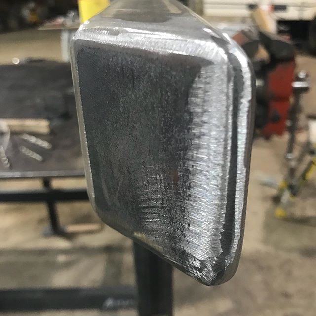 Why buy our #maplebar rock sliders? Because we #care about every single set we make. Even spending time on the weekends on the #grinder making sure that those little details are done for the #best product we can put out.  2019 sliders now available!! #moab tested #beatnotbabied  #offroad #ram #dodge