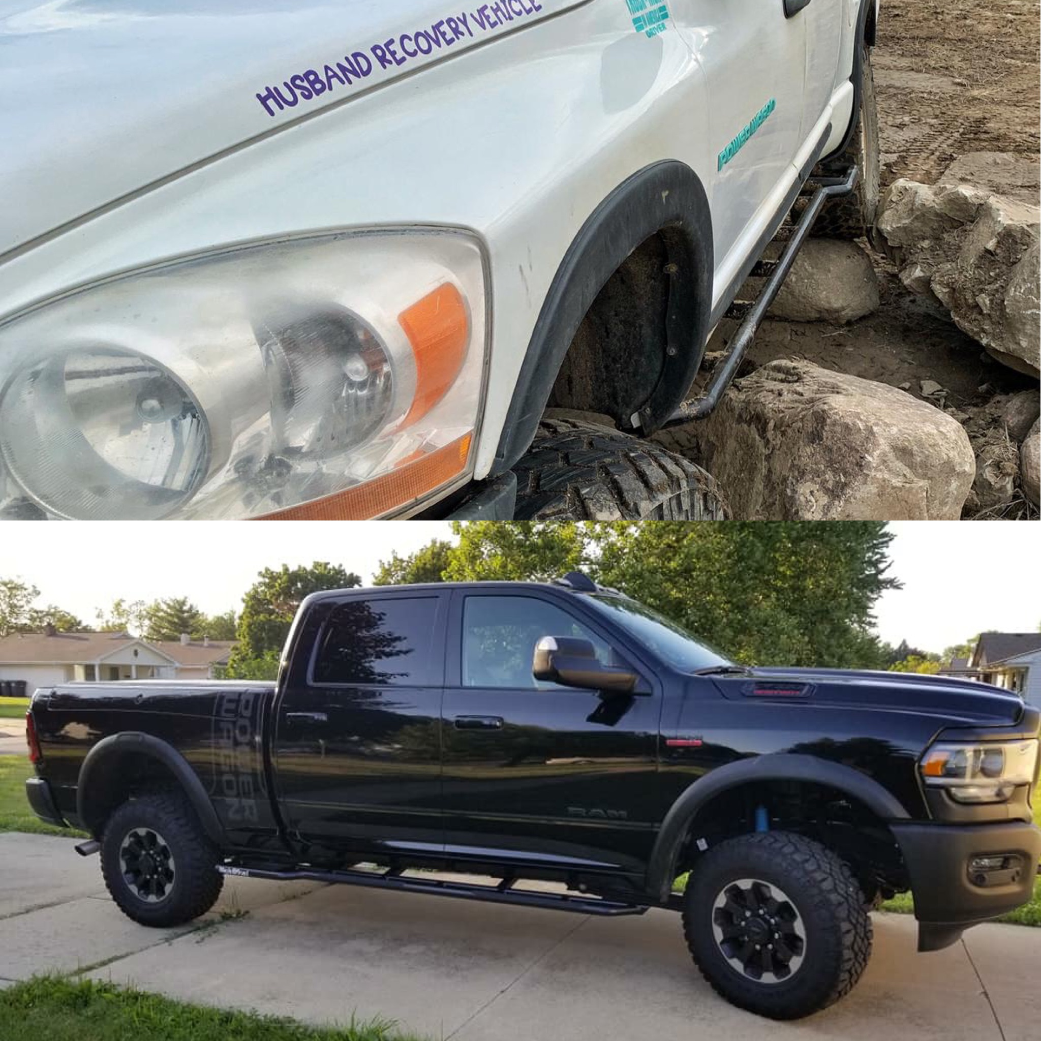 3rd and 4th Gen Dodge rock rails - Rock Rails for your Dodge/Ram 2500/3500Protect that body