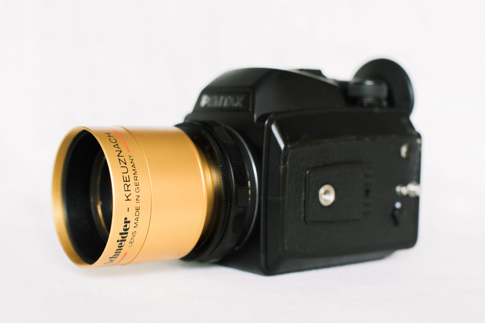 Photo of Schneider Cine-Xenon 100mm f/2 Lens Adapted for Pentax 645