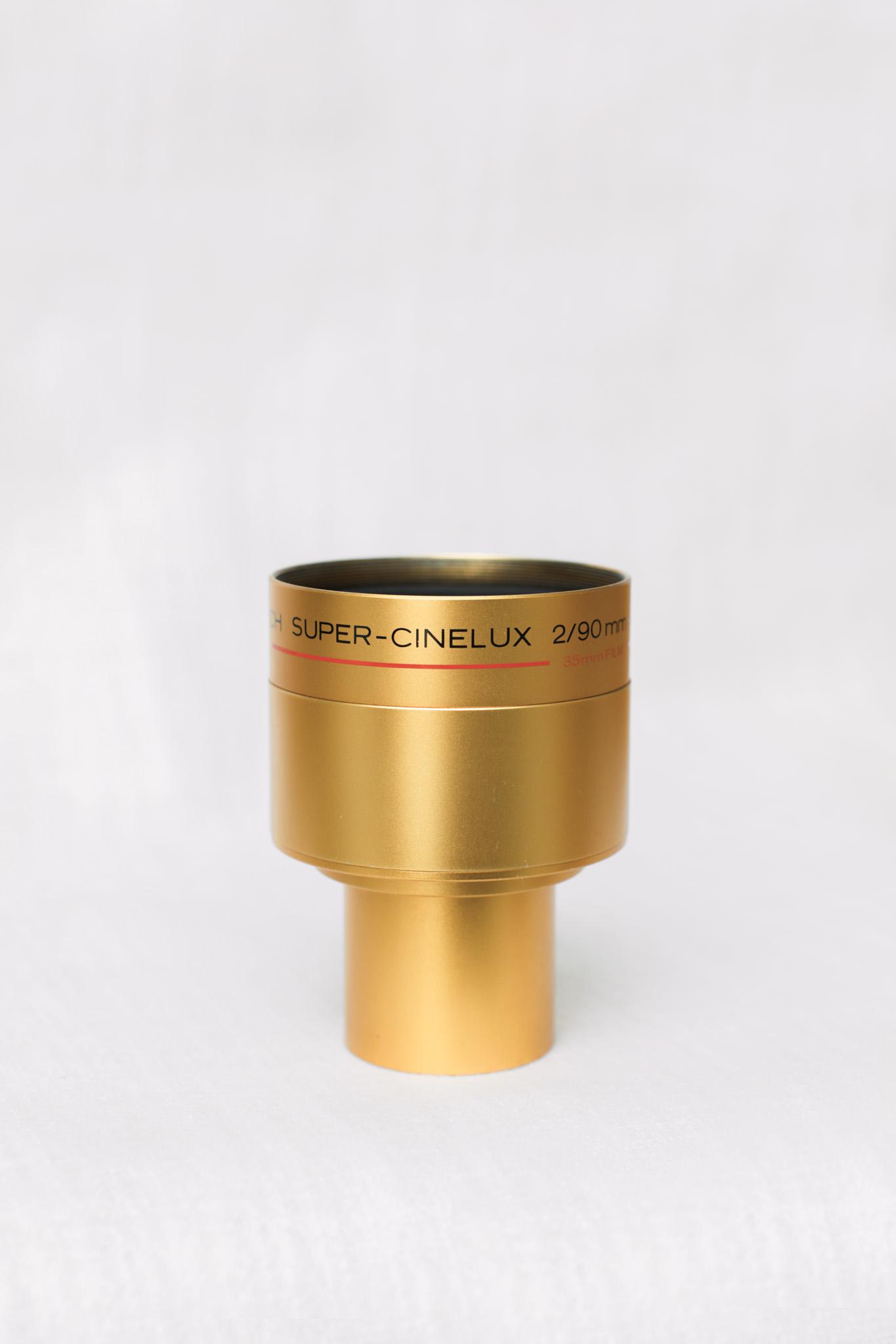 Schneider 90mm f/2 Super Cinelux Lens