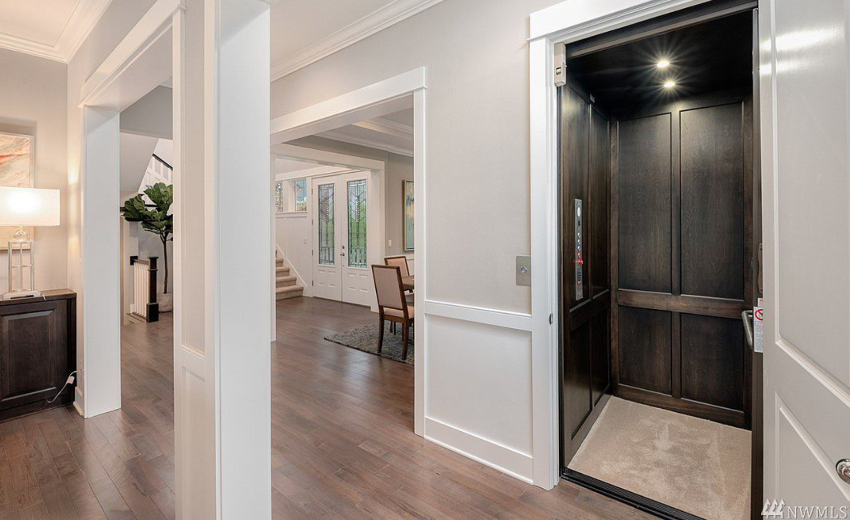 Easy, convenient and tastefully designed home elevator!