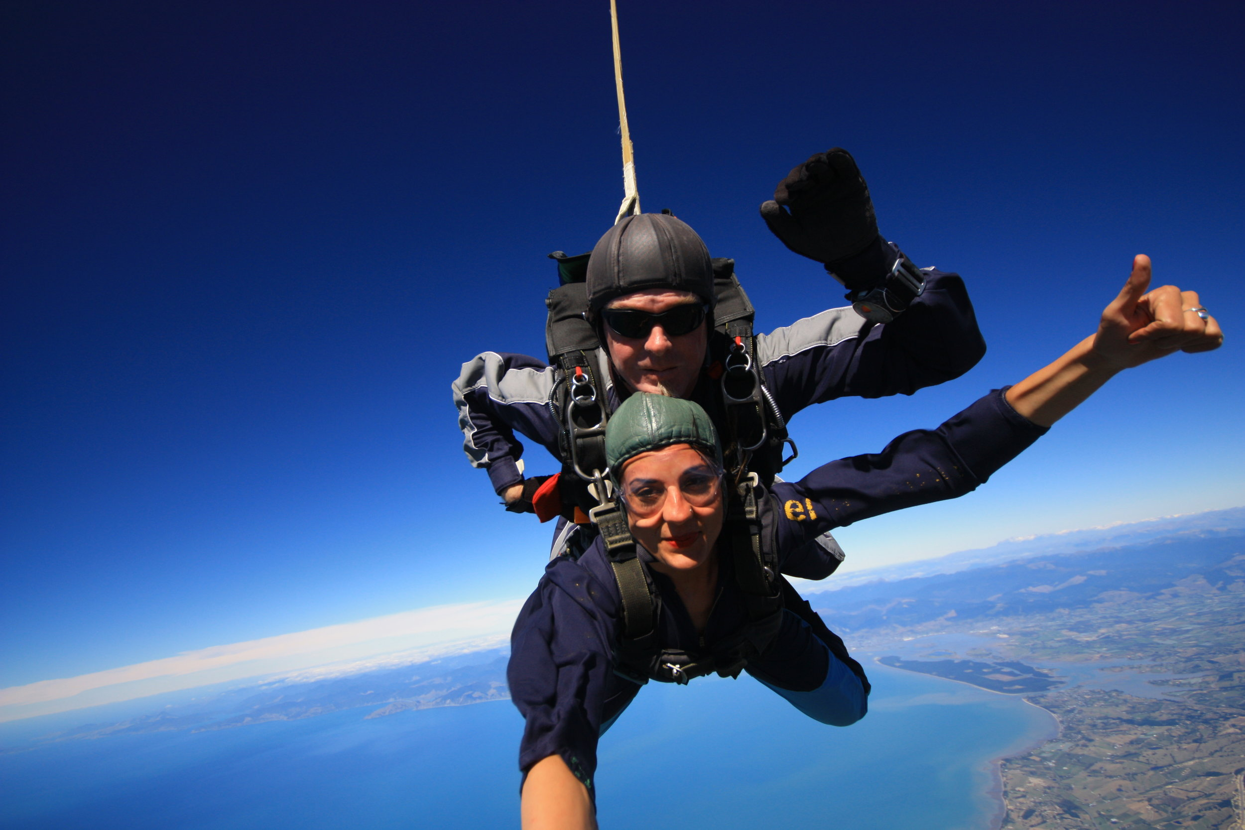 New Zealand Sky Dive