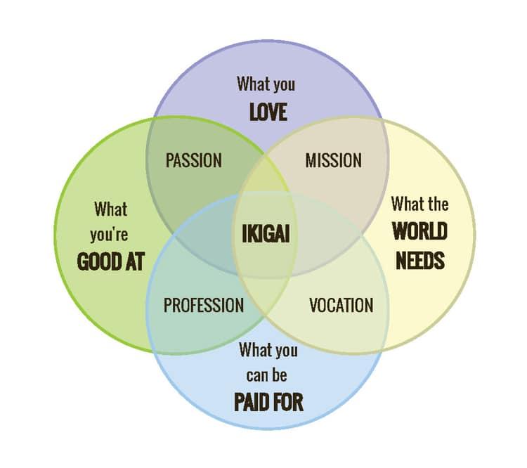 "Ikigai en ""Hoe kom ik erachter wat ik wil"" (of wil doen)."