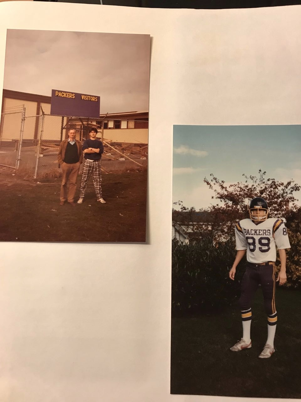 - Vancouver 1984, met mijn vader.