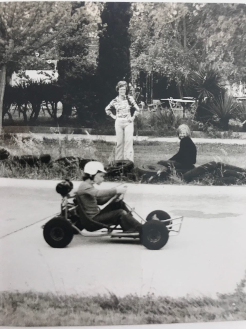 1974, als Michel Vaillant in Spanje.