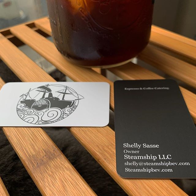 New business cards! #steamship