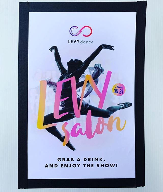 Come by and grab a coffee @levydance #supportthearts