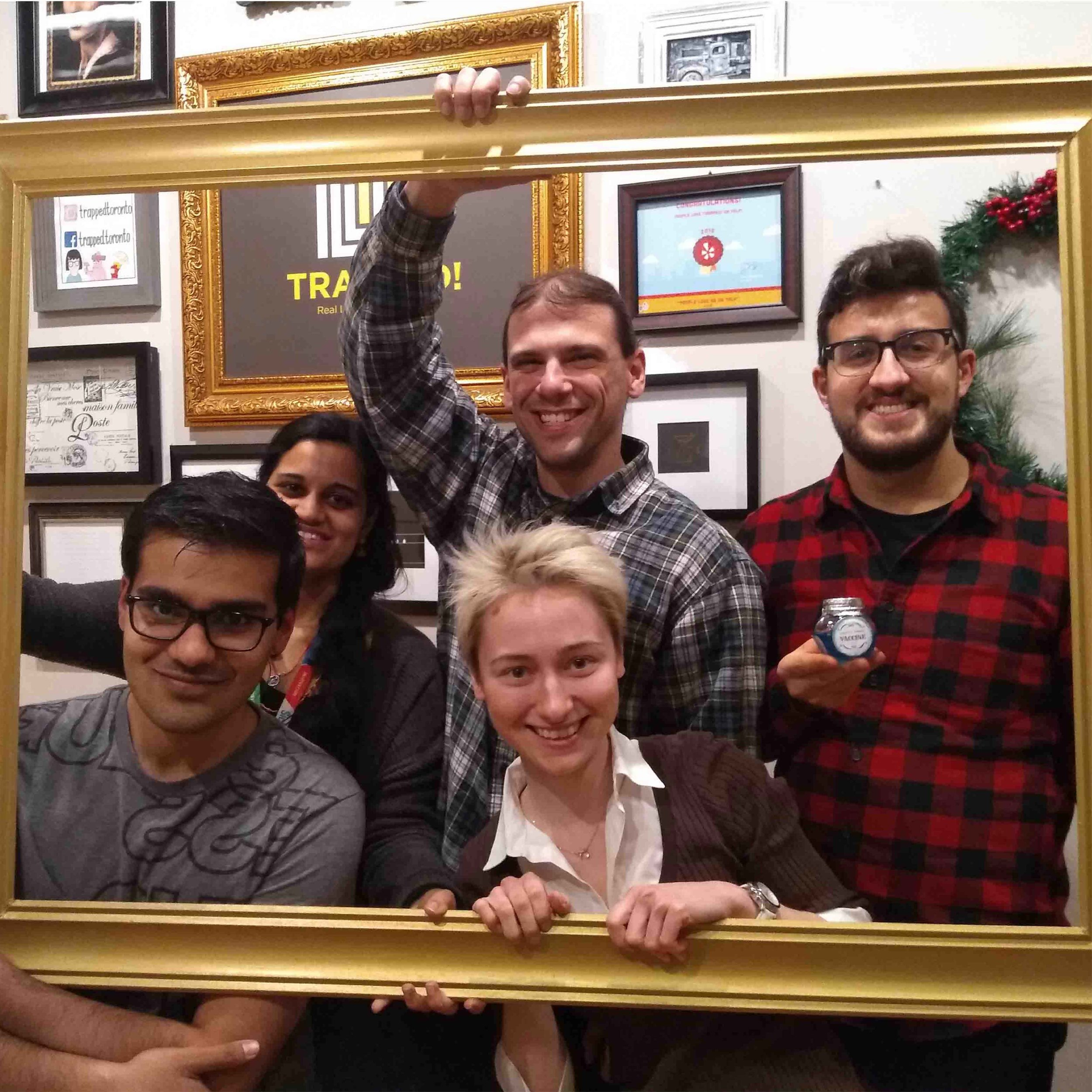 February 2019 – Escape room lab outing