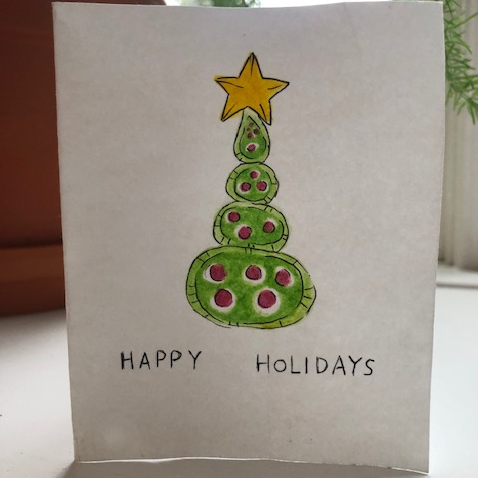 Happy Holidays 2018! Thanks Janine for the lovely card