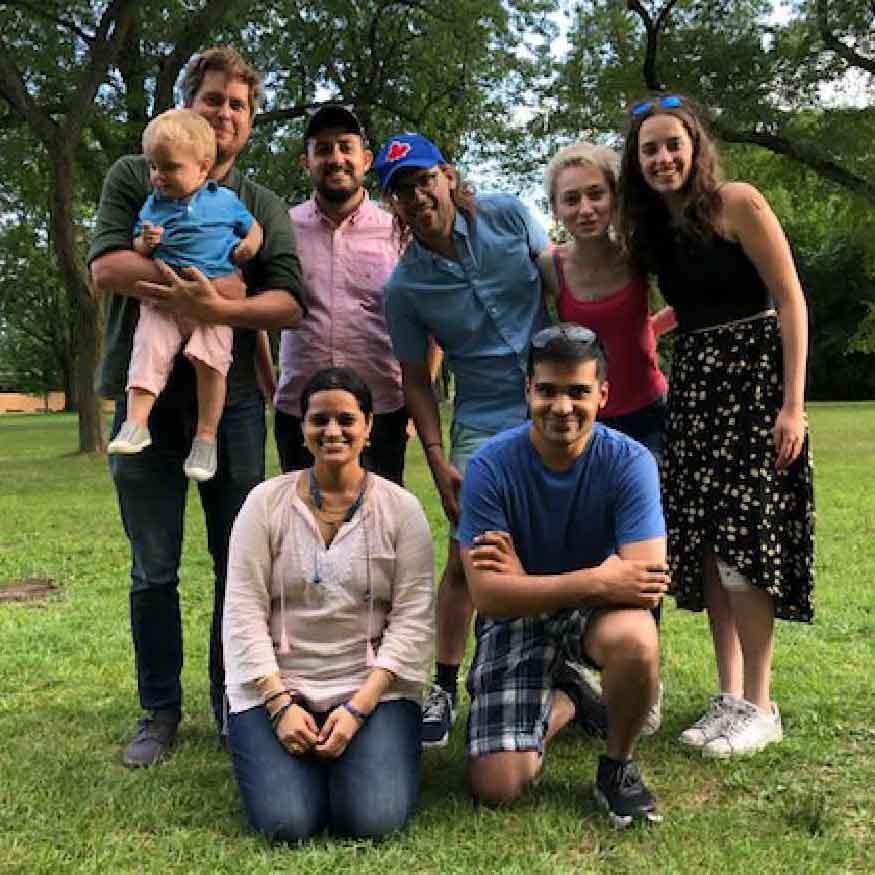 August 2019 – Lab picnic on Toronto Island