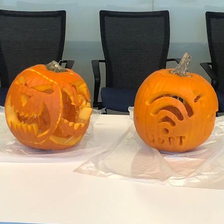 October 2019 – Pumpkin carving