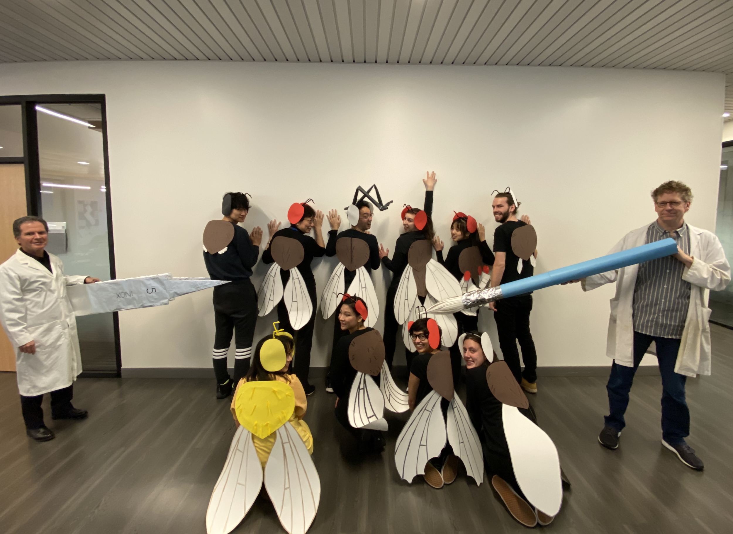 Hallowe'en 2019 –15th Floor MaRS – Lipshitz and Smibert Labs
