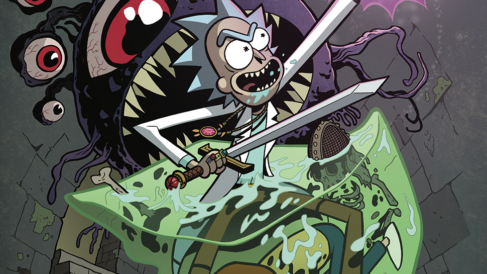 RICK & MORTY VS. DUNGEONS & DRAGONS: +1D6 SHOTS AT BEING COOL