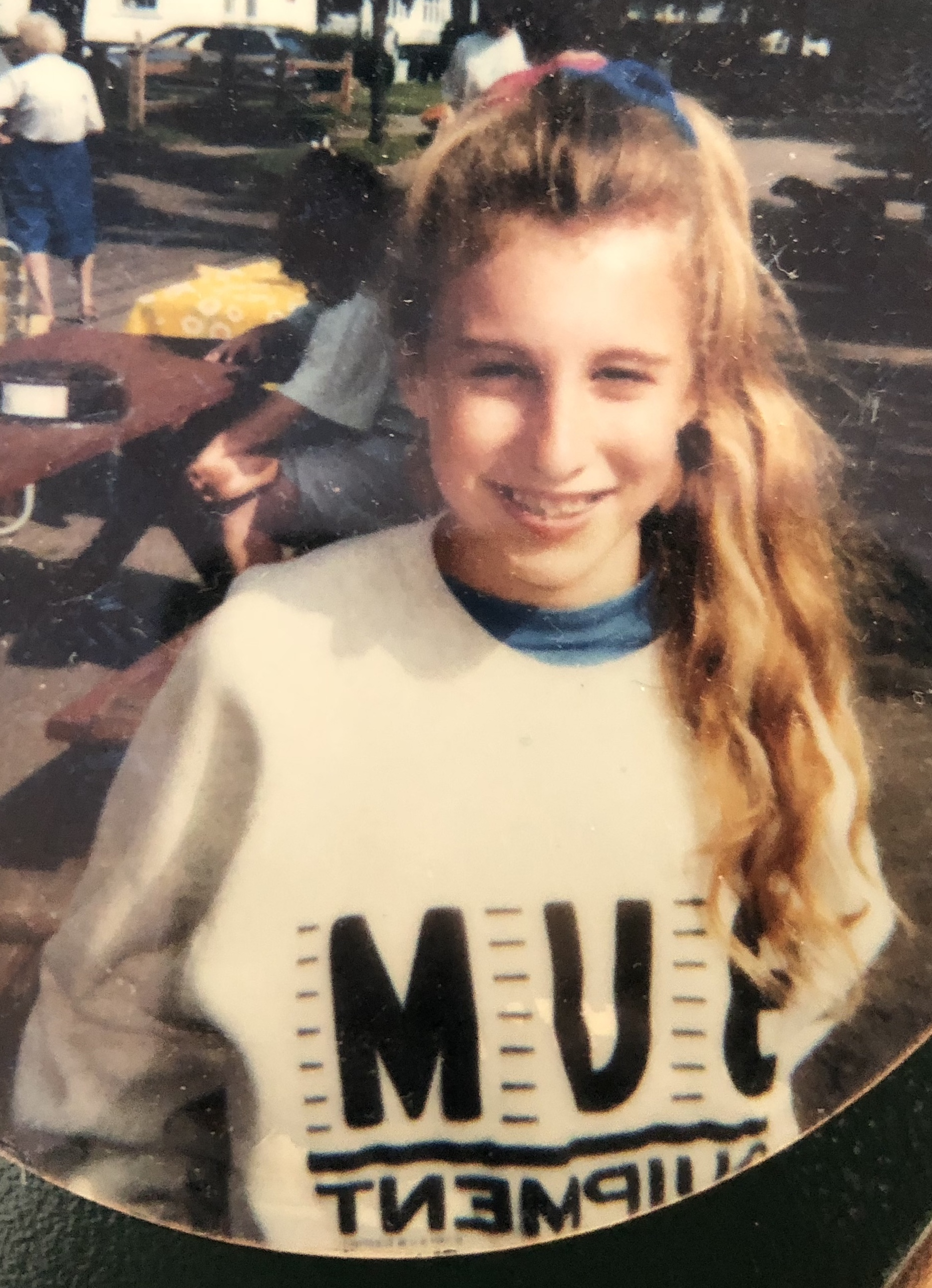 B.U.M Equipment and scrunchies. I sort of want to reproduce this look right now.