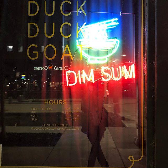 Already planning my next meal... #duckduckgoat #chicago #chicagofood ##fultonmarket #scallionpancakesforever #stephanieizzardisagenius