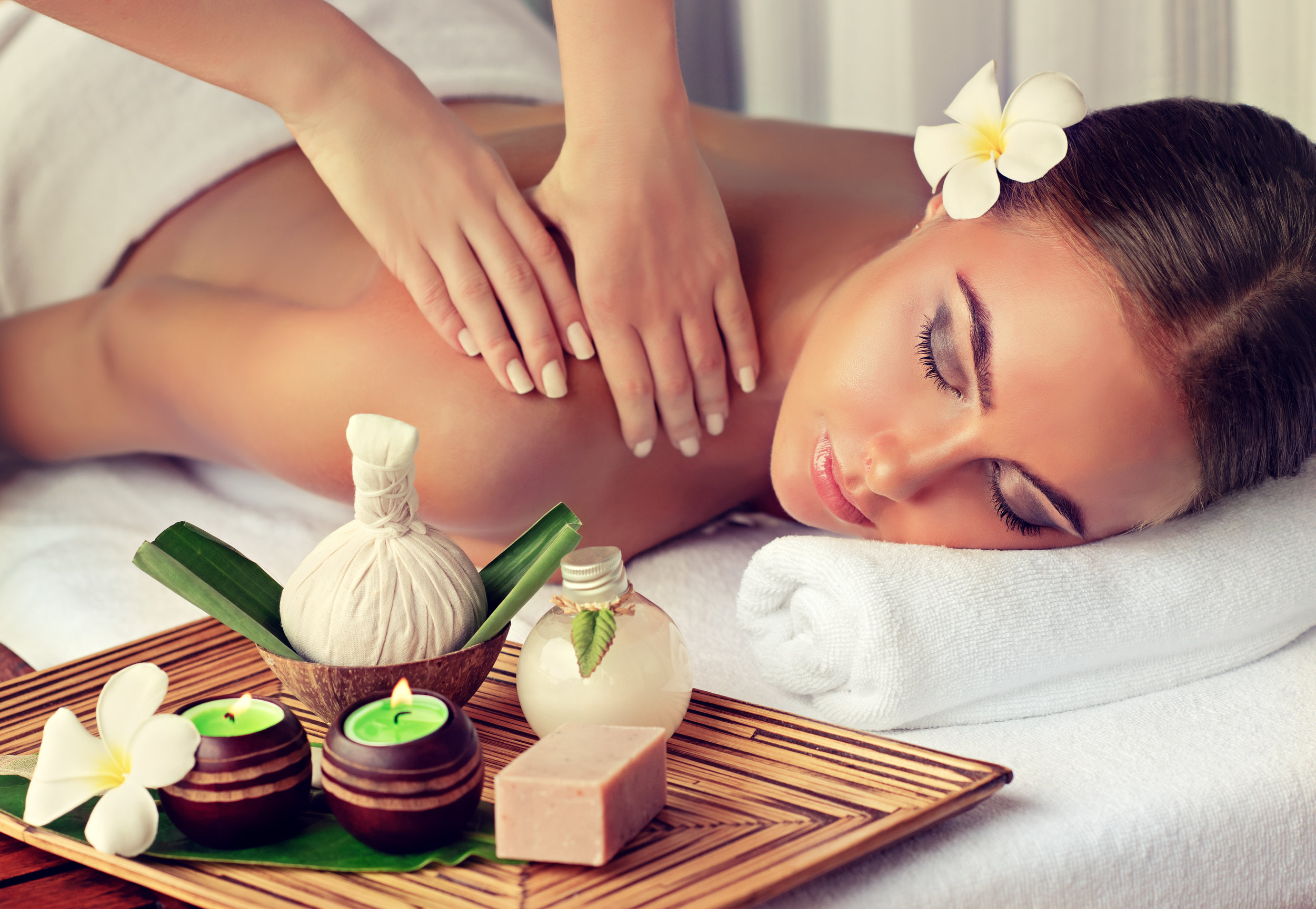 - Beauty and spas