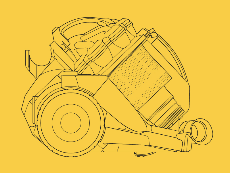 Dyson – Technical Illustrations